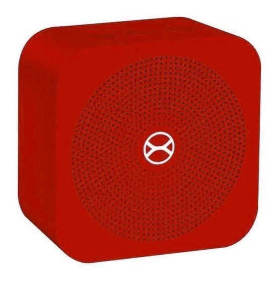 Caixa De Som Portátil Xtrax Pocket - Vermelha 5w Rms Blueto