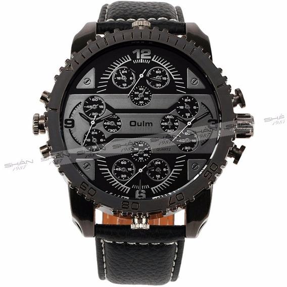 Relógio Masculino Oulm - Esportivo - Caixa Grande - Hp3233