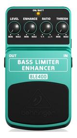 Pedal Behringer Baixo Ble400 Bass Limiter Enhancer - Pd0557
