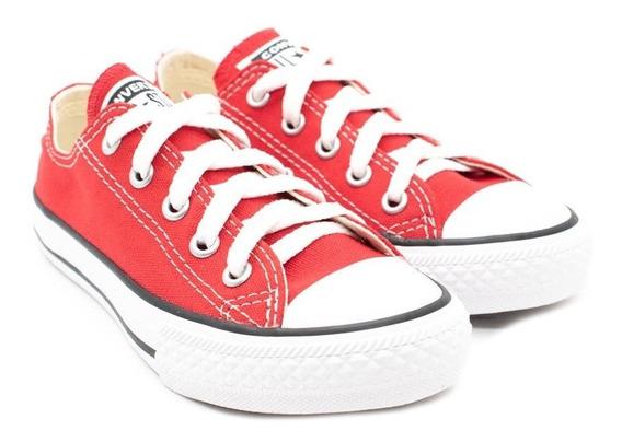 Tênis Converse All Star Ck00020004 Vermelho/cru/preto