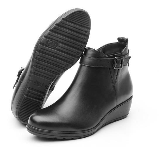 Zapato Flexi Negro Dama Botín Casual 35107