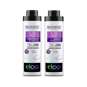Kit Shampoo E Condicionador Balsamo Cara De Rica 1l Eico