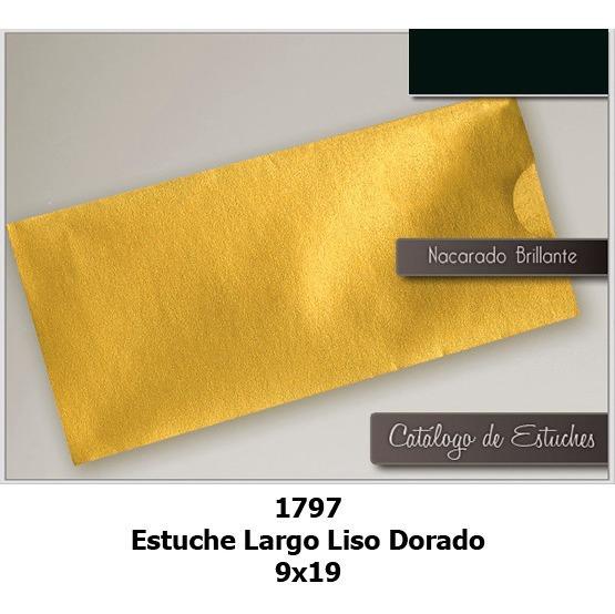 Sobres Ticket 9x19 Cm Estuches Dorado 15 Años X 50