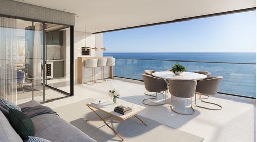 Imagem 1 de 15 de Ref: 38 - Apartamento Vista Mar 4 Suites Na Meia Praia - V-amd38