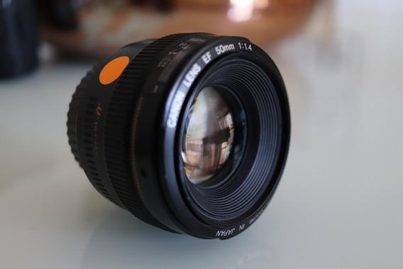 Lente Canon 50mm 1.4 Ef