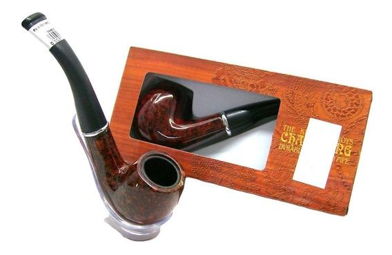 Pipa Importada Ref:701 Polímero Resistente Para Fumar