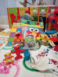 Set Art. Elmo Plaza Sesamo