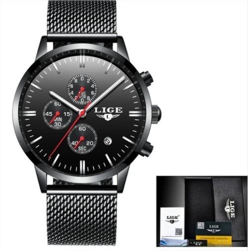 Relógio Ligw Original Lige Caixa/a Prova D