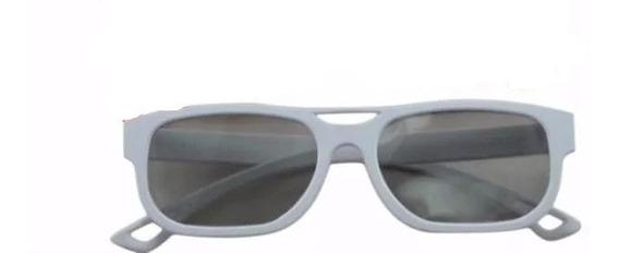 Oculos 3d Passivo Kit 2 *branco* Lg-ebx61669401 - Original !