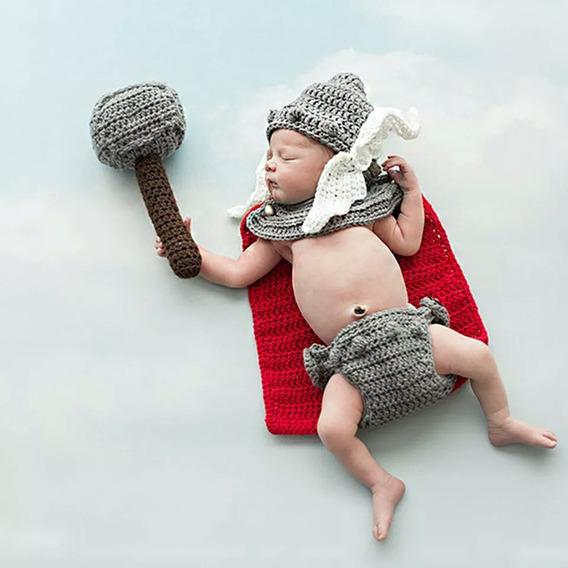 Traje De Thor Bebe Recién Nacido Disfraz Avengiers