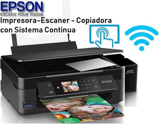 Impresora Epson Xp440 Wifi Mejor Que L380 L3110 L3150 L4150