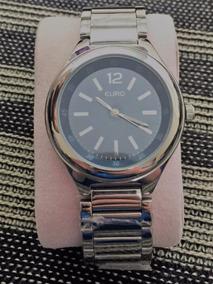 Relógio Euro Unissex - Fundo Azul - Produto Novo!