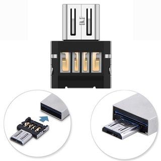 Kit 10 Pçs Usb 2.0 Para Micro Usb Otg Conversor Adaptador