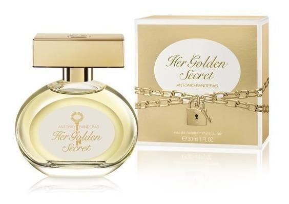 Perfume Feminino Antonio Banderas Her Golden Secret 30ml
