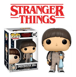 Funko Pop Will Ghostbusters 547 Stranger Things Dustin Mike