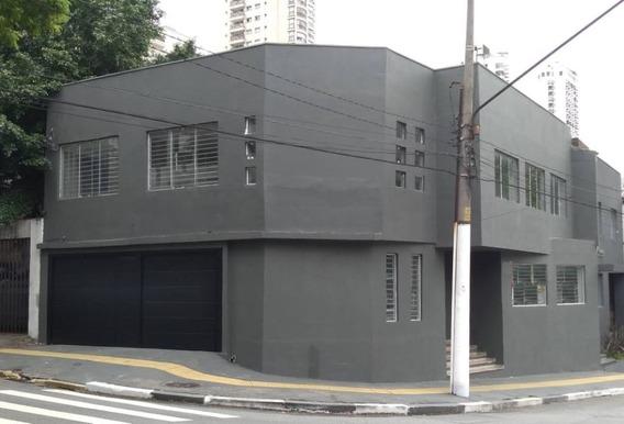 Sobrado Comercial Para Locação, Barra Funda, 440m², 10 Salas, 3 Vagas! - Mi13355