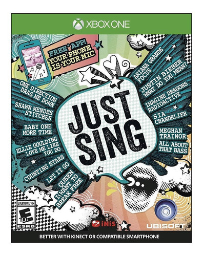 Just Sing - Xbox One (físico)