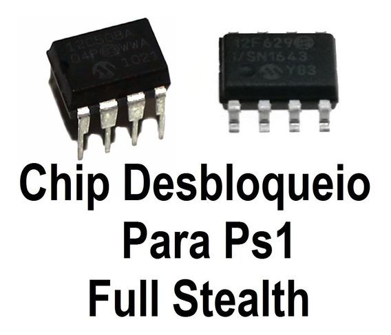 Kit 3 Chips Desbloqueio De Ps1 Todos Modelos + Diagramas