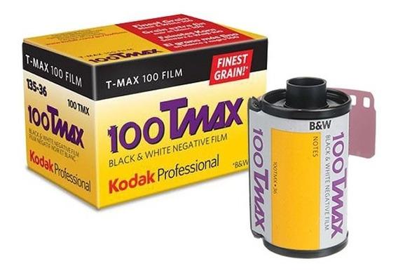 Filme Foto Kodak T-max 100 Branco E Preto 135-36 - 1 Unid