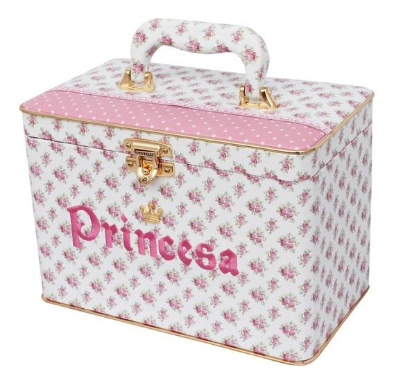 Caixa Box Universal Princesa C/ Alça P/ 600 Fotos 10x15