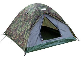 Barraca Para Camping Camuflada Nautika Ntk - Selvas 3/4