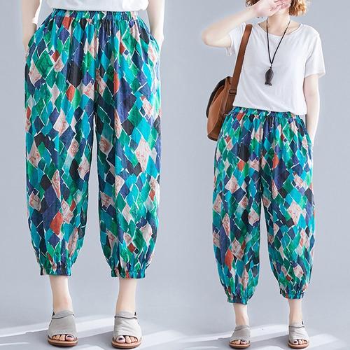 Pantalones Holgados Recortados Para Mujer Pantalones Anchos Mercado Libre