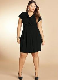 Vestido Plus Size Moda Evangelica Tamanhos G, Gg, Xxg E Xlg