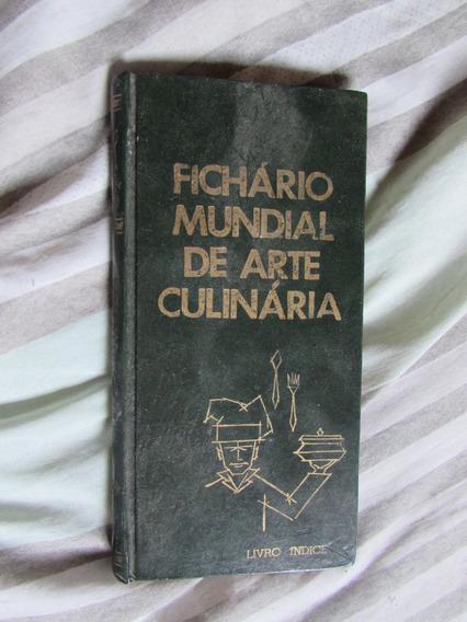 Fichário Mundial De Arte Culinária - Livro Índice