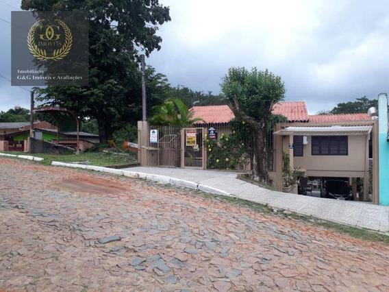 Casa Com 3 Dormitórios À Venda, 110 M² Por R$ 550.000 - Tarumã - Viamão/rs - Ca0478