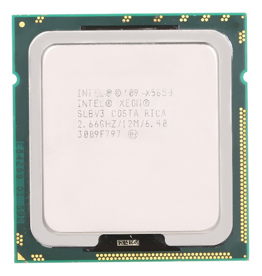 Informações? Xeon? Processador X5650 12m Cache 2,66 Ghz 6,40