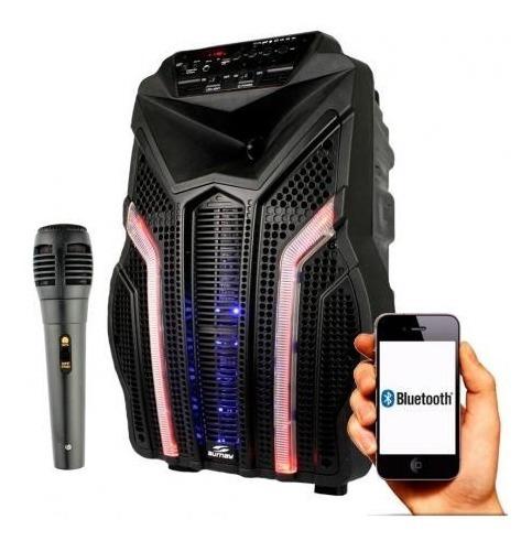 Caixa De Som Amplificada Fortress Sumay Bluetooth 200w Rms
