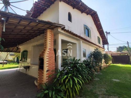Casa Com 5 Dormitórios À Venda Por R$ 950.000,00 - Recreio - Rio Das Ostras/rj - Ca0577