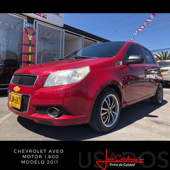 Chevrolet Aveo Emotion Modelo 2011