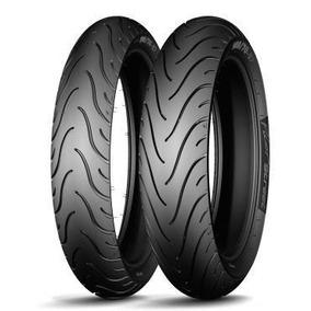 Par Pneu 110/70-17 + 140/70-17 Michelin Street Cb300 Fazer C