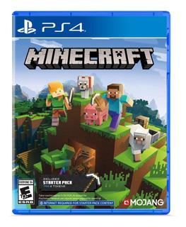 Minecraft Starter Collection Playstation 4 Start Games