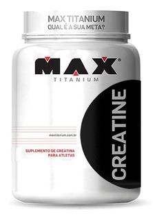 Creatina Pure 600g Creatine - Max Titanium - 120 Doses /5g