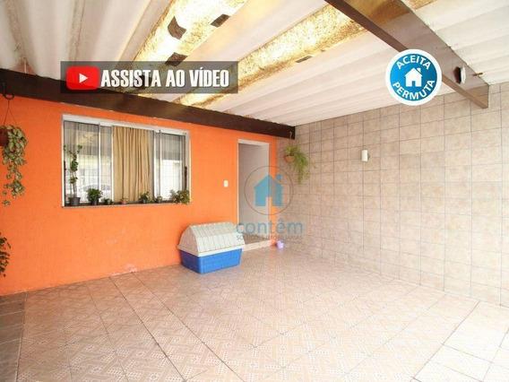 Casa Com 3 Dormitórios À Venda, 125 M² Por R$ 420.000,00 - Km 18 - Osasco/sp - Ca0283
