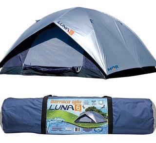 Barraca Para Camping 6 Pessoas Mor