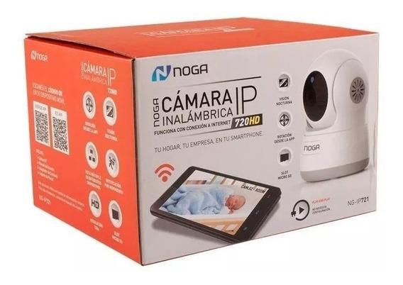 Cámara Ip Noganet Inalámbrica Wifi Con App