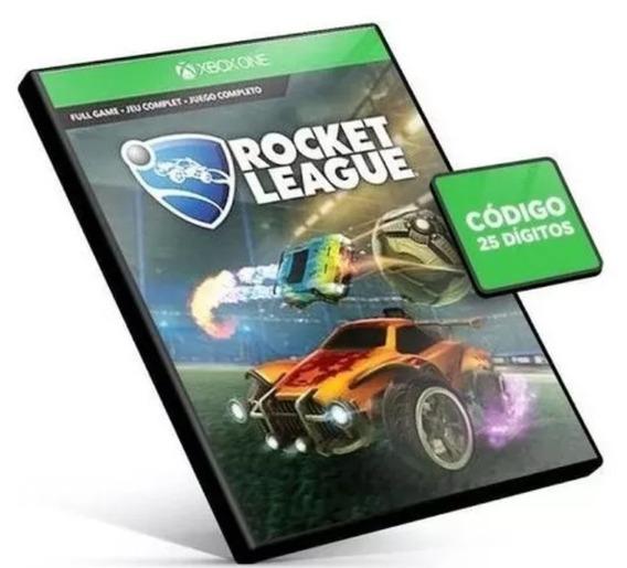 Rocket League Xbox One Código De 25 Dígitos Receba Hj