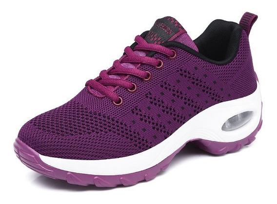 Calçado Tênis Tênis Mulheres Clássico Confortável Espor