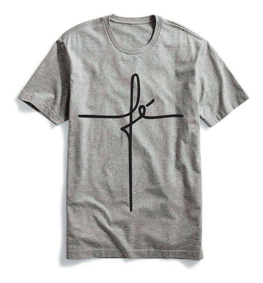 Camiseta Fé Masculina E Feminina