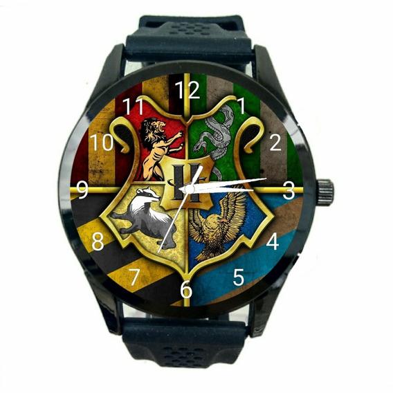 Relógio Hogwarts Hp Feminino Harry Potter Livros Filmes T846