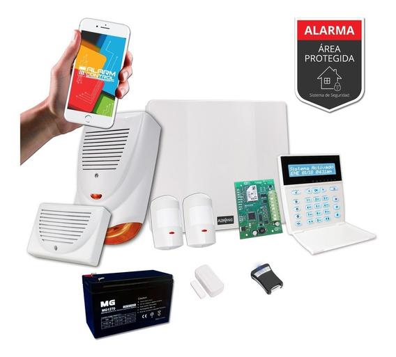 Promo Kit Alarma Domiciliaria Inalambrica + Ip 400