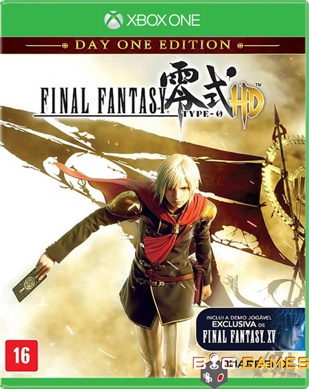 Final Fantasy Type 0 Hd - Xbox One - Midia Fisica