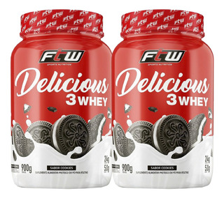 2x Delicious Whey Ftw 900g