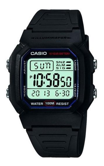 Relógio Digital Masculino W800h Original