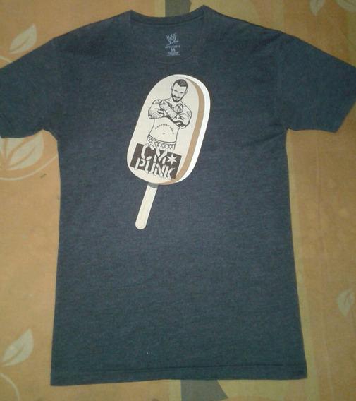Wwe Cm Punk Camiseta Ice Cream Bar Original Talla S