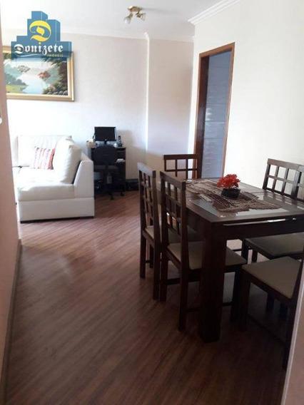 Apartamento À Venda, 70 M² Por R$ 400.000,00 - Vila Pires - Santo André/sp - Ap9757