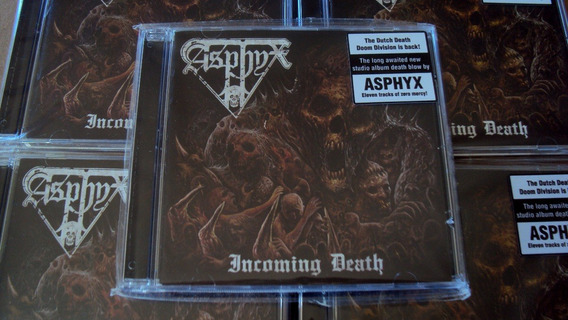 Cd Asphyx - Incoming Death - Cd Novo
